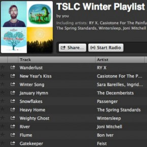 Our New Year's Gift to You: TSLC's Winter Playlist