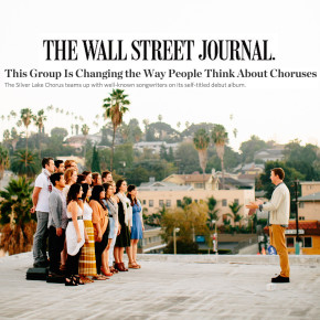 "The Wall Street Journal Says We're ""Changing the Way People Think About Choruses"""