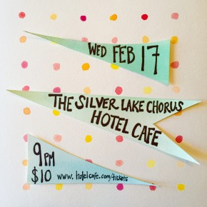 FEB 17th at HOTEL CAFE