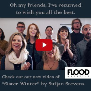 FLOOD MAG premieres SISTER WINTER video